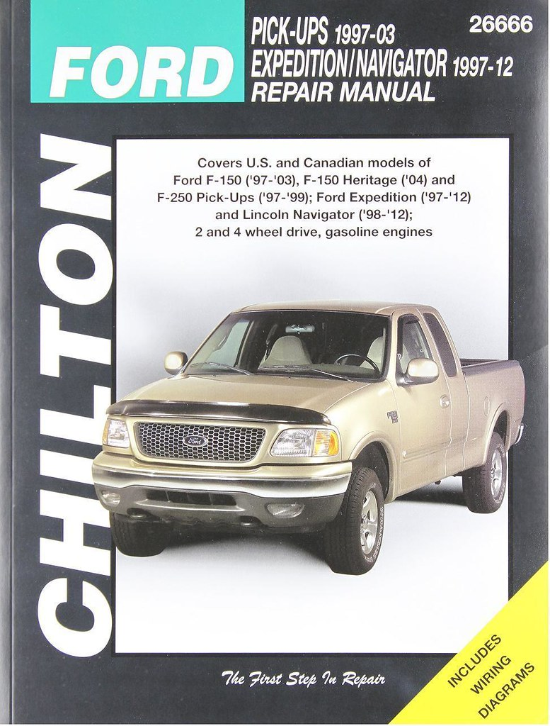 ... ManualsPRO - 1997-2003 Ford F150, 1997-1999 F250, Chilton Repair Service