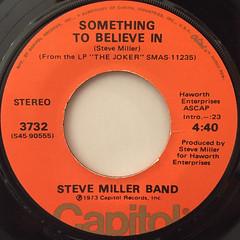STEVE MILLER BAND:THE JOKER(LABEL SIDE-B)