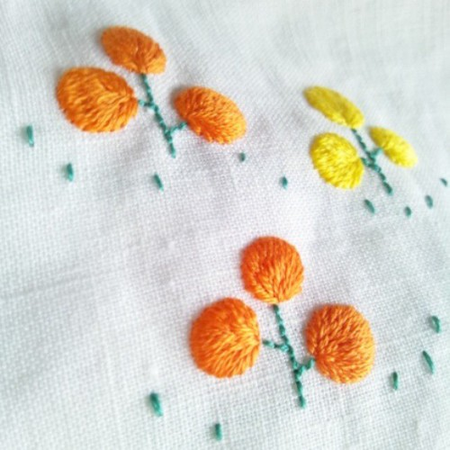 #embroidery #needlework | by Lapin priere