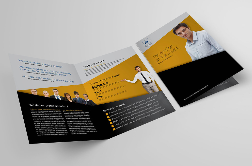 bi fold brochure 40 by demorfoza