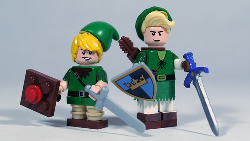 Lego Young Link Amp Adult Link Based On This Image See