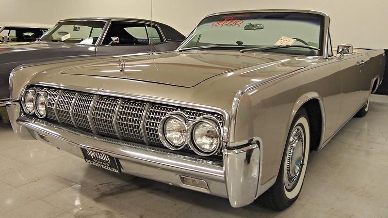 1964 lincoln continental 4 door convertible 1 photographed flickr. Black Bedroom Furniture Sets. Home Design Ideas