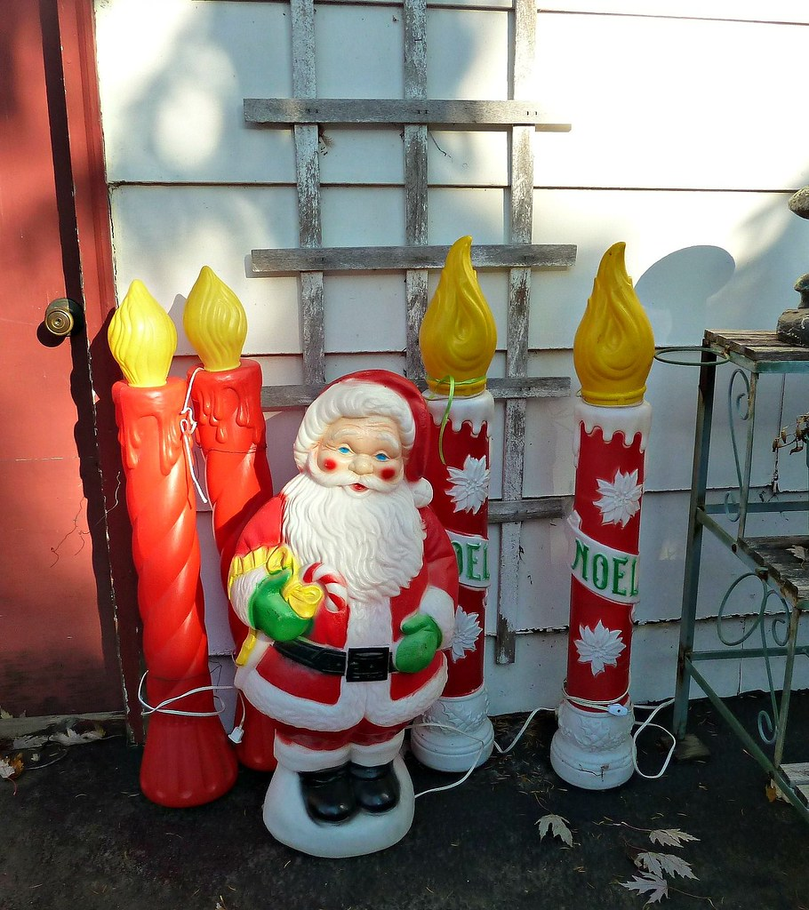 christmas blow molds by missconduct - Christmas Blow Molds