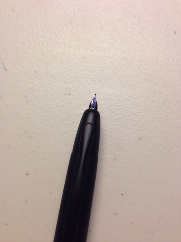 Pilot Vanishing Point Black Plated Nib | by Laike