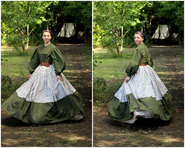 It's Finished! // Sara's Civil War Day Dress