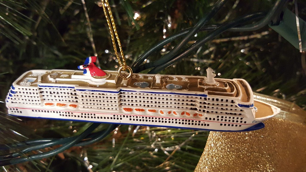 Do You Have Any Rccl Christmas Ornaments On Your Tree