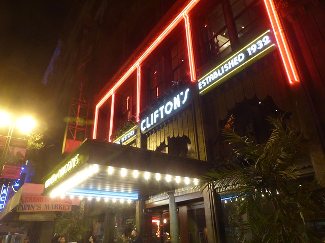 Clifton's Cafeteria in LA