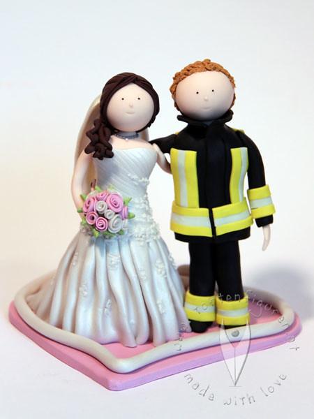 Feuerwehr Hochzeitstortenfigur Tortenfiguren Flickr