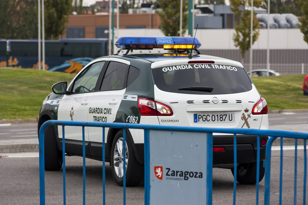 Nissan Qashqai | By Emergencias ZGZ Guardia Civil Tráfico. Nissan Qashqai |  By Emergencias ZGZ