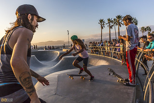 venice beach skateboarding 15 | by Eva Blue