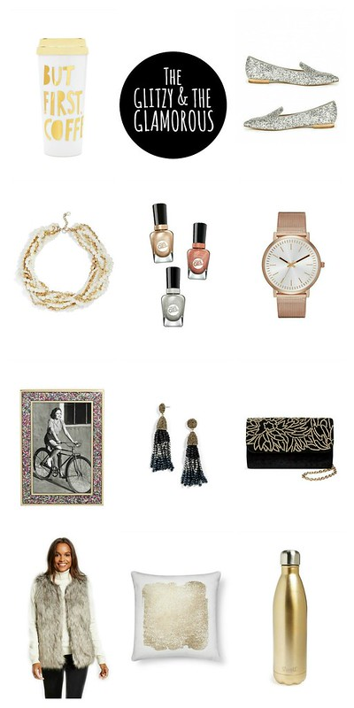 gift guide for the glitzy and glamorous girl 2016 | Style On Target blog