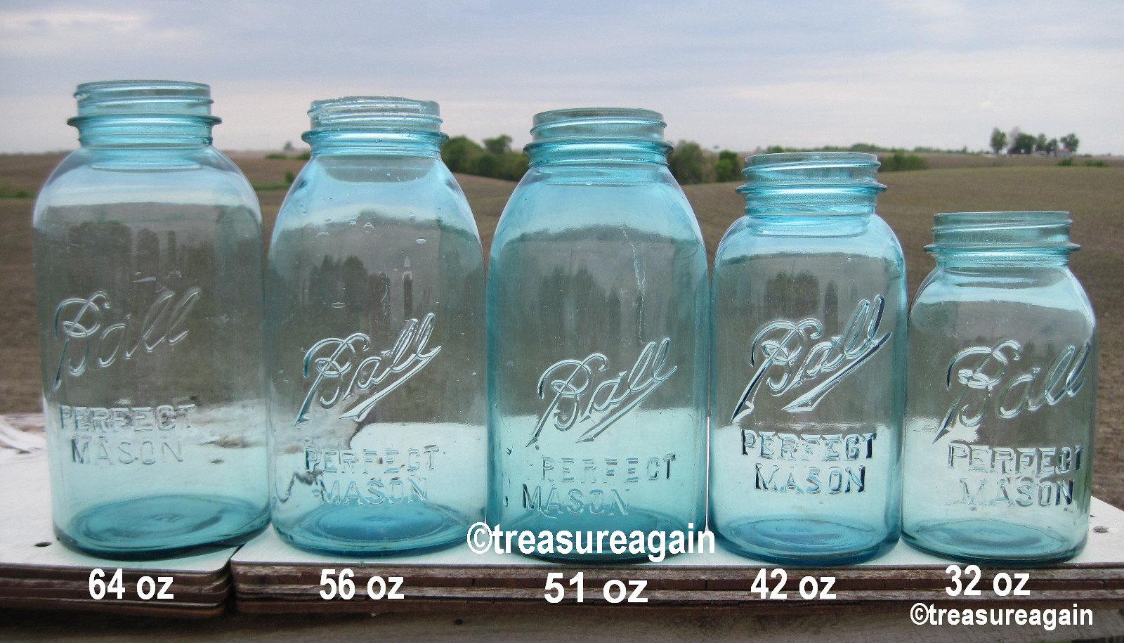ball mason jar sizes comparison flickr. Black Bedroom Furniture Sets. Home Design Ideas