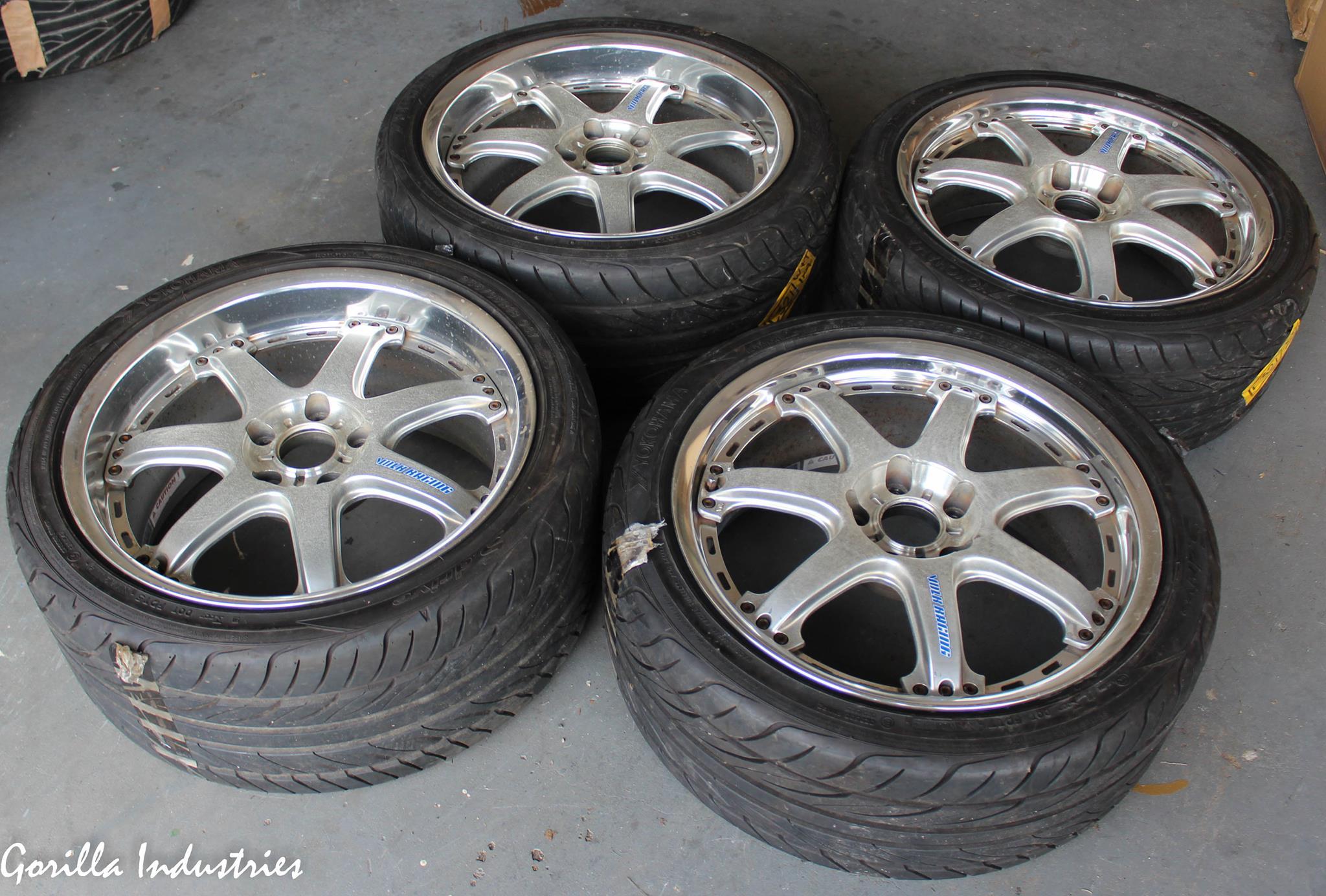 Rays GT-7 18x8 +43 18x9+44 5x114.3