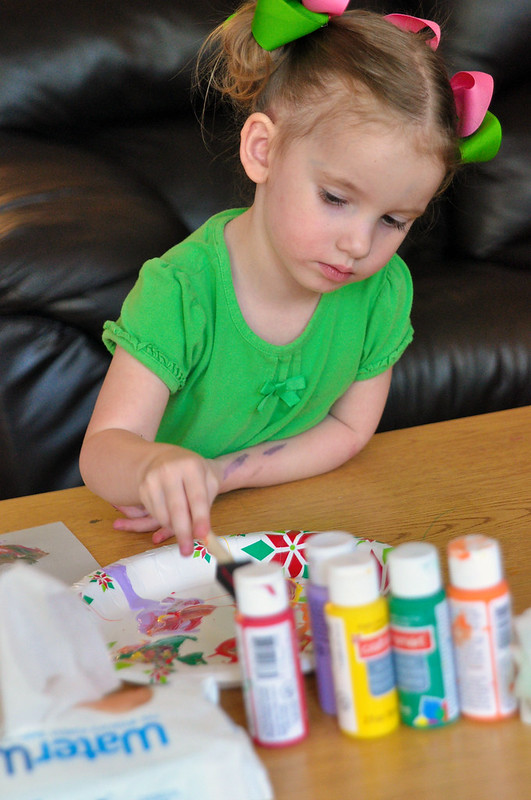 Easy Handprint Craft for Toddlers