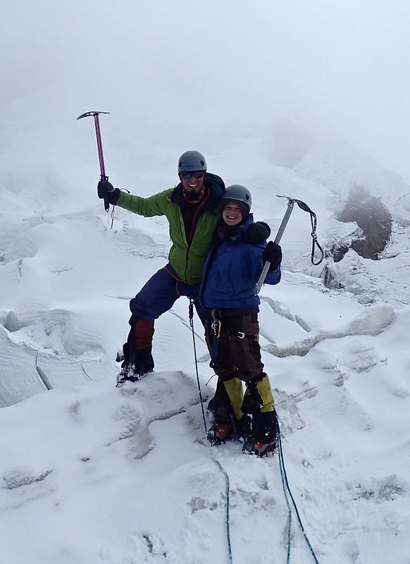 Cima del Nevado Mateo (5.150m), parte del macizo Contrahierbas (Cordillera Blanca).