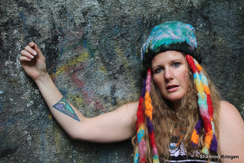 Shannon Kringen Wool Felted Hat and Tattoo | by shannonkringen