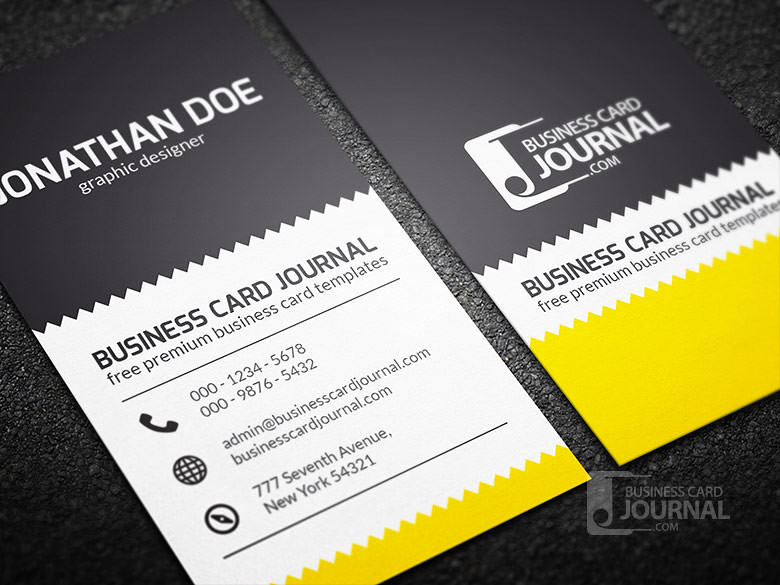 Creative zigzag design business card template download c flickr creative zigzag design business card template by meng loong reheart Choice Image