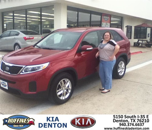 Thank You To Erin Chandon On Your New 2014 Kia Sorento F