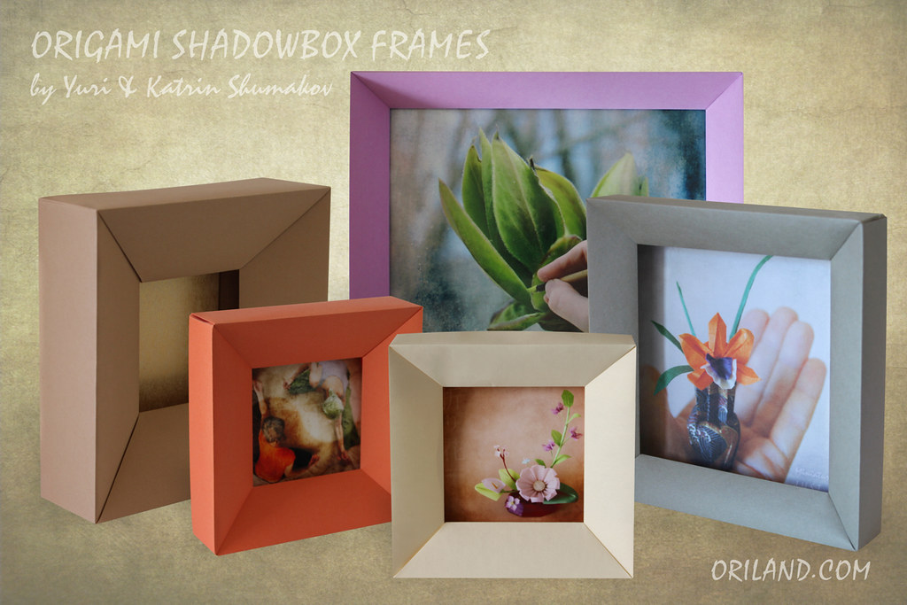 Origami Shadowbox: Equilateral Triangle Profile | ORIGAMI SH… | Flickr