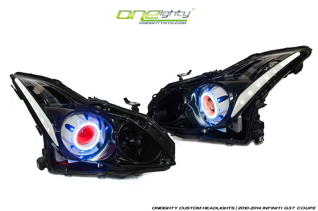 Infiniti G37 Coupe Custom Headlights G37 Coupe Fully Loa Flickr