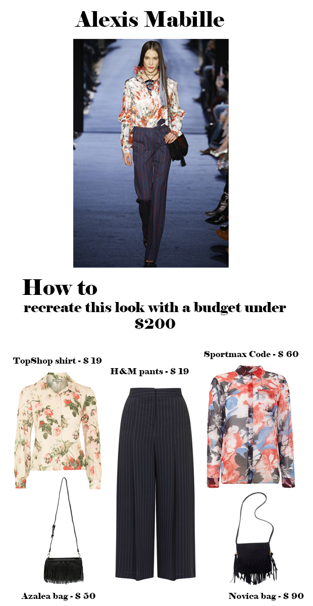 Four ideas to recreate designer looks on a budget