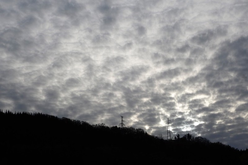 Cloud of late fall
