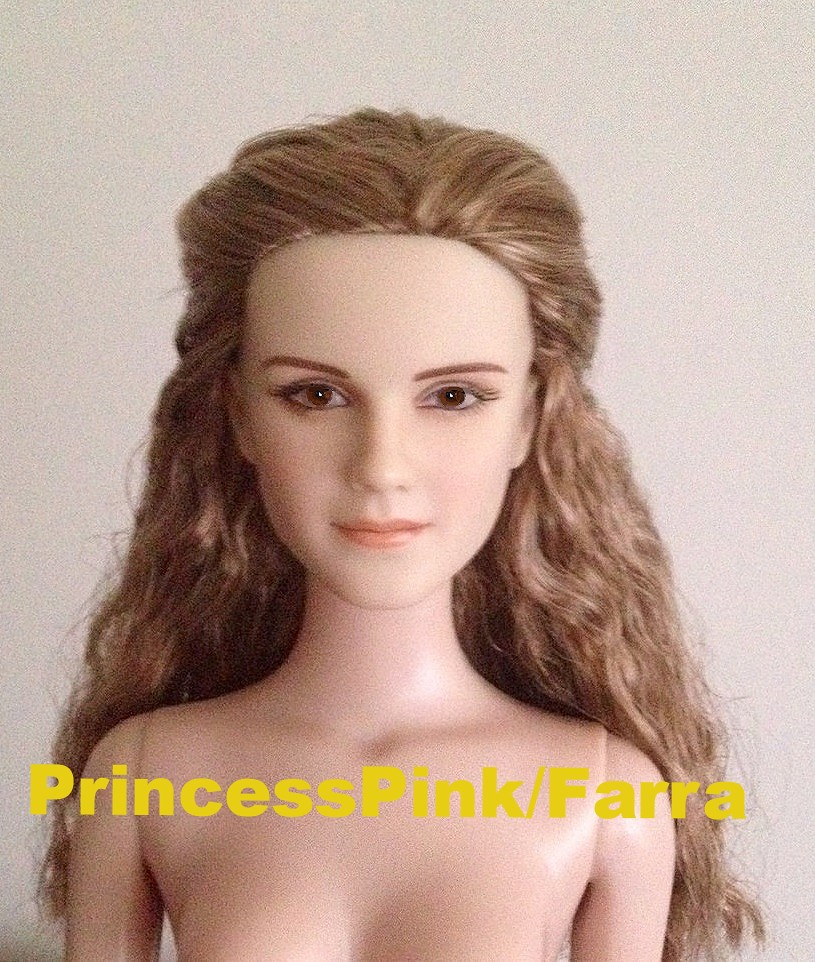 Emma Watson As Belle In Beauty And The Beast Movie Doll 2017 Disney New