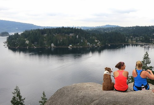 Well-earned rest at Quarry Rock | by Ruth and Dave