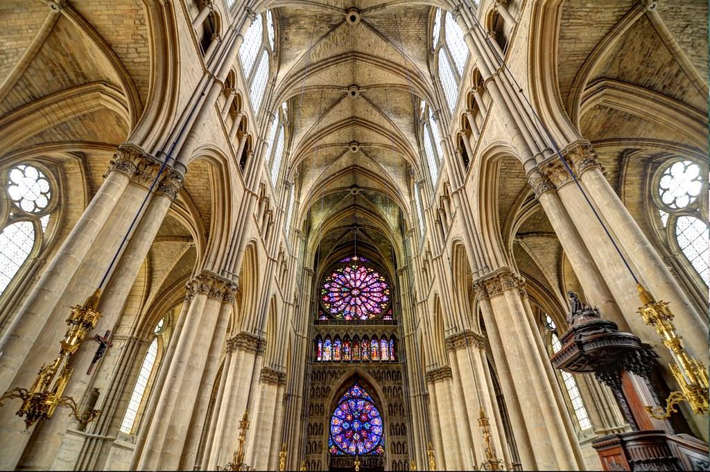 LIntrieur De NotreDame De Reims  I Was Surprised By The   Flickr