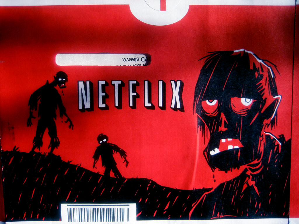 netflix red halloween envelopes 2013 zombies 6895 by brechtbug