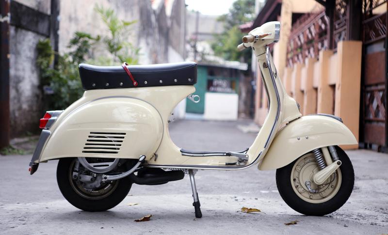 Vespa Gl 1964 Ridho Noor Flickr