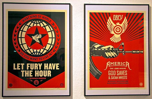 Artist: Shepard Fairey (USA) | by Gregory Tkac