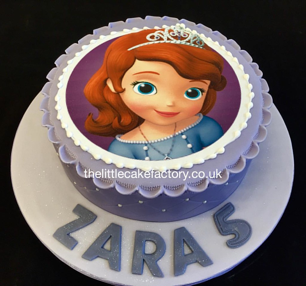 Princess Sofia Birthday Cake Order From Our Cakeshop 0 Flickr