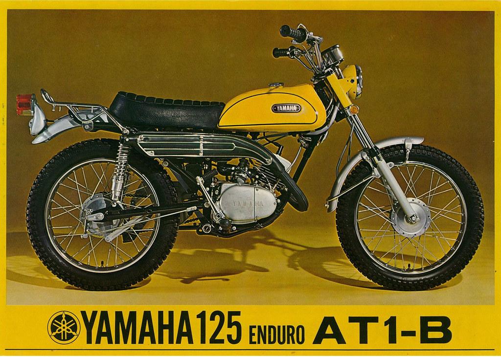 1970 Yamaha AT 1B Enduro Brochure Front