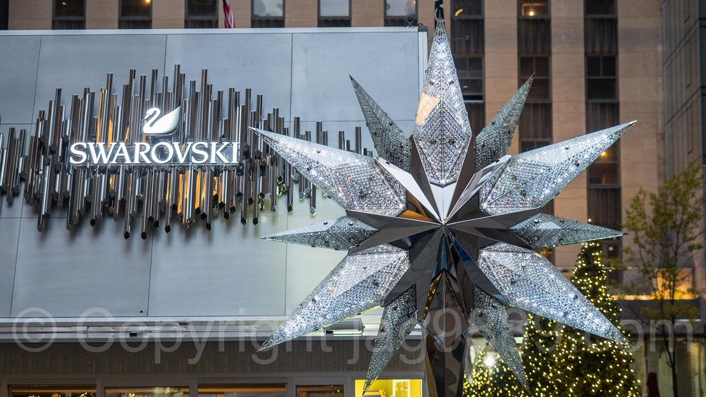 ... Rockefeller Center Christmas Tree Swarovski Star Display, Midtown  Manhattan, New York City | by - Rockefeller Center Christmas Tree Swarovski Star Display, €� Flickr