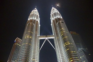 Petronas Twin Towers Under Moon | by Irfan Suleman Chohdry