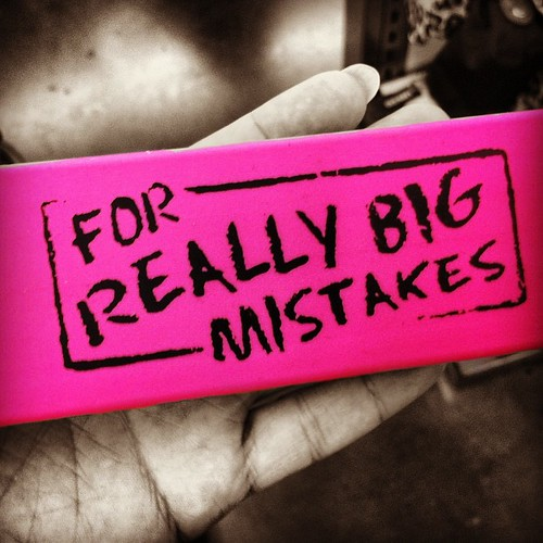 "For really #BIG #mistakes #eraser,""if"" only we could!  Go get your own at #oldnavy #onedayatatime #if  the#ghostofthepast #hauntsmestill #letbe #cantletgo #splinterinmysoul 
