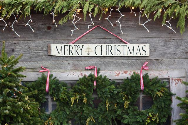 northern lights christmas tree farm 2 by luluthebaker - Northern Lights Christmas Tree Farm