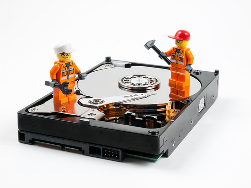 Hard Drive Repair | by wwarby