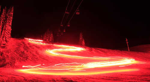 New Year's Eve Torchlight Parade at Silver Star Mountain Resort near Vernon, BC | by Ryan Van Veen Photography