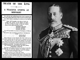 20th January 1936 - Death of King George V | by Bradford Timeline
