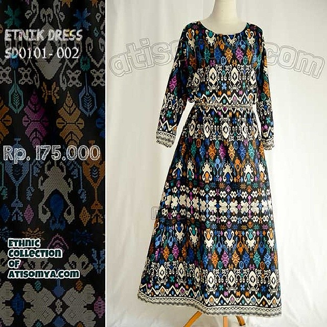 Baju Etnik Motif Keker Bali Ethnic Dress On Sleveless Ga Flickr