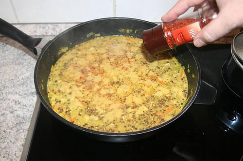 44 - Mit Gewürzen abschmecken / Taste with seasonings