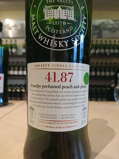SMWS 41.87 - Punchy perfumed peach and plum