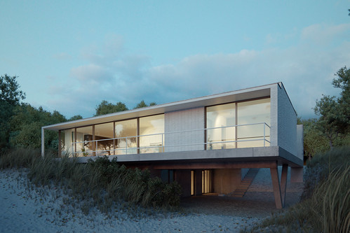 Villa on the beach | by BBB3viz