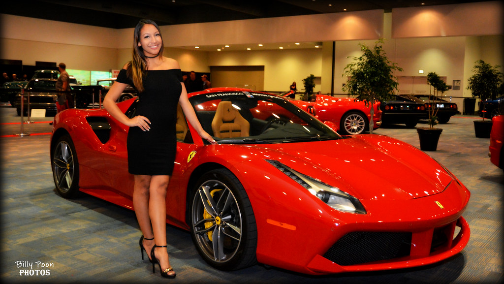 2017 ferrari 488 spider san francisco auto show | olivia wit… | flickr