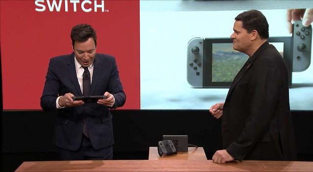 Jimmy Fallon Nintendo Switch