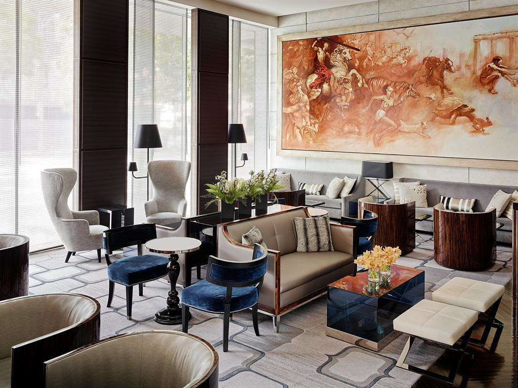 the st regis san francisco lobby lounge mural lobby loung flickr the st regis san francisco lobby lounge mural by st regis hotels