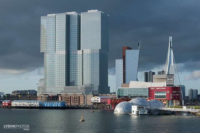 Residential and office building De Rotterdam