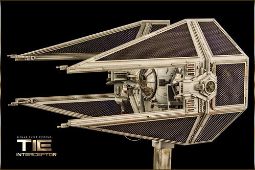 TIE Interceptor | by Andy R Moore